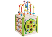 EverEarth My First 5 in 1 Activity Cube Wooden Toy