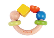 Everearth Ring Shape Wooden Rattle