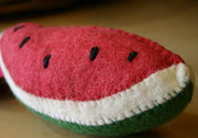 Pretend Play Felt Watermelon