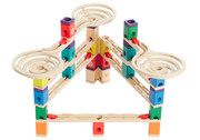 Hape Quadrilla Vertigo Wooden Marble Run Toy