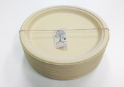 Bamboo Pulp Party Plates Small