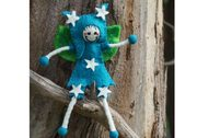 Miss Star Fairy Tree Wool Felt Fair Trade Toy