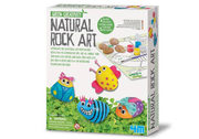 4M Green Creativity Natural Rock Art Craft Kit And Eco Board Game