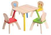 Voila Children's Wooden Table & Chairs