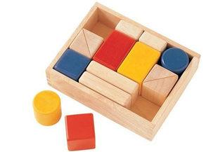 First Sound Blocks Wooden Baby Toy