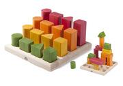 Wonderworld Natural Shape Sequence Wooden Blocks