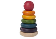 Wonderworld Natural Wooden Stacking Rings