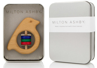 Milton Ashby Baby Rattle