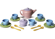 Green Toys Recycled Plastic 17 Piece Tea Set