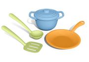 Green Toys Recycled Plastic 4 Piece Chef Set