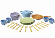 Green Toys 27 Piece Recycled Plastic Cookware And Dining Set