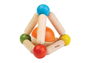 Plan Toys Clutching Rattle