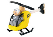 Plan Toys Wooden Helicopter And Pilot
