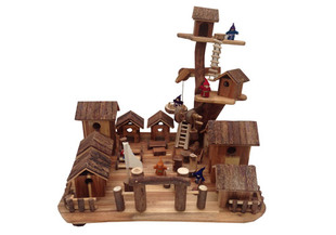 Wooden Treehouse Village Toy