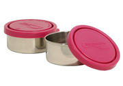 Stainless Steel Snack Container - Magenta