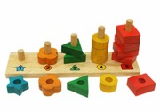 Stack And Sort Montessori Learning Board