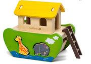 EverEarth Wooden Noah's Ark Toy