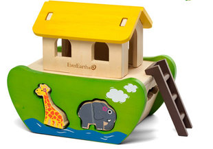 EverEarth Wooden Noah's Ark Toy