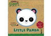 Little Panda Cotton And Recycled Polarfleece Babies Cloth Book