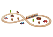 Everearth Figure 8 Train Set