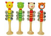 Wooden Bell Musical stick