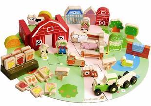 Everearth Organic Farm Block Set