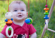 Hess Wooden Baby Gym