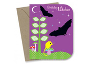 Go Batty Birthday Card