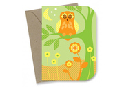 Twilight Owl Card