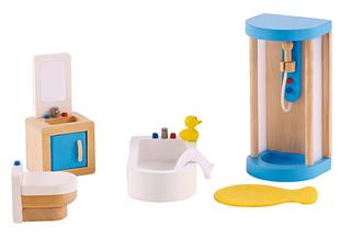 Hape bathroom dollhouse furniture