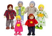 Hape doll family