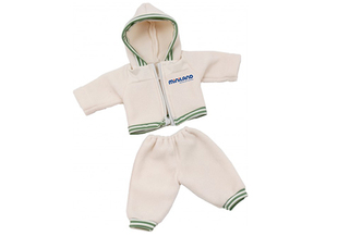 Miniland baby doll Tracksuit with hoodie