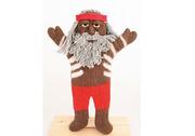 Aboriginal elder hand puppet