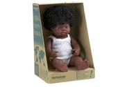 Miniland Doll African Girl 38cm