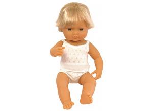 Miniland Doll Caucasian Boy 38cm