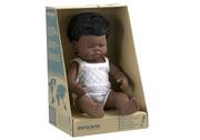 Miniland Doll African Boy 38cm