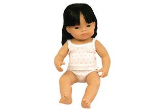 Miniland Doll Asian Girl