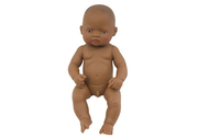 Multicultural baby boy doll