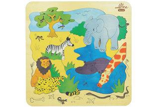 African animals puzzle
