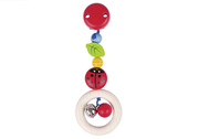 Heimess Ladybird Pram Clip on Toy
