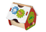 Wooden farm activity shape sorter