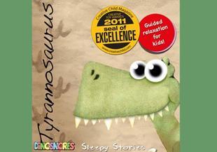 Dinosnores Tyrannasaurus Sleepy Story CD