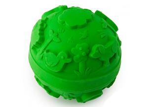 Olli & Carol rubber world ball