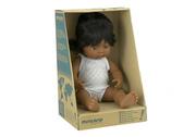 Miniland Latin American Girl Doll 38cm