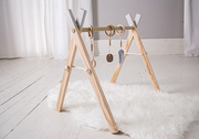 Wooden Activity Baby Gym