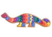 Dinosaur Alphabet Puzzle Wooden Toy