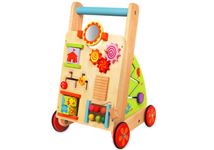 I'm Toy Wooden First Activity Walker