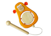 I'm Toy Wooden Monkey Drum Musical Toy