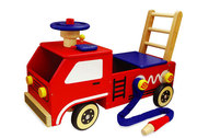 IÇ__Ç_Ç÷Ç__Ç_¶ÿ__m Toy 2 in 1 Fire Engine Walker and Ride On